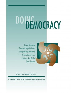 Doing Democracy by Scott London